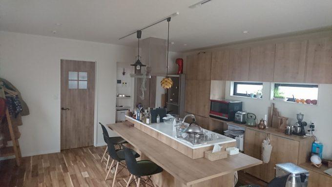 WEB内覧会:キッチンLIXILリシェルプラット・朝の写真