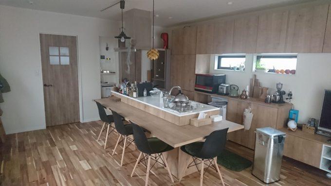 WEB内覧会:リシェルPlat 15畳の狭いLDKでアイランドキッチン