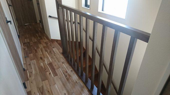 新築戸建て・独立階段の採光
