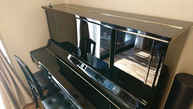 新築戸建てアップライトピアノの配置場所はLDK