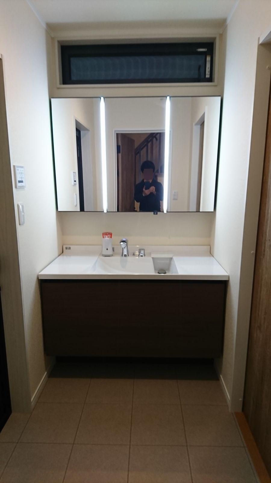 web内覧会】1階洗面室&ランドリースペース