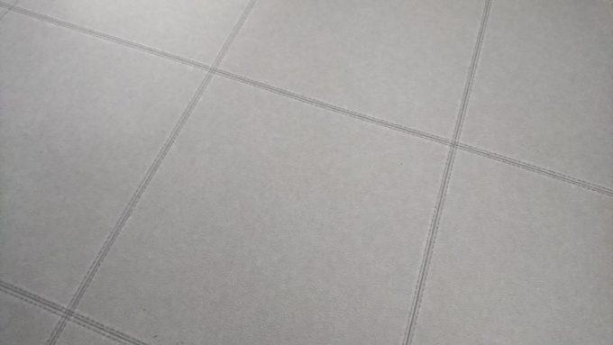 WEB内覧会・洗面室クッションフロア東リ製レザー調