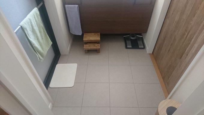 WEB内覧会・洗面室の床面広さ