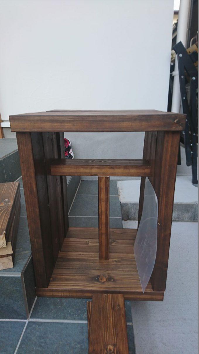 【DIY】寝室のナイトテーブルをSPFで作成・仮組み