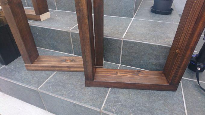【DIY】寝室のナイトテーブルをSPFで作成・パーツ