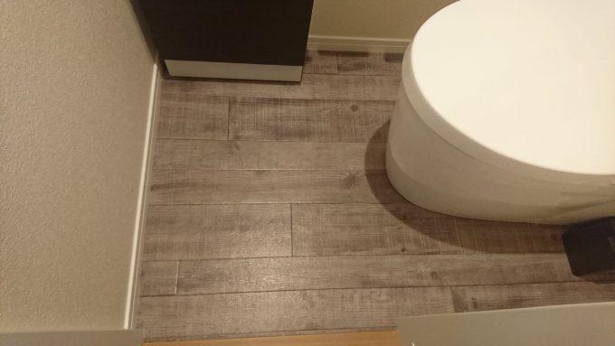 WEB内覧会1階トイレ0.75帖の狭いトイレの広さチェック