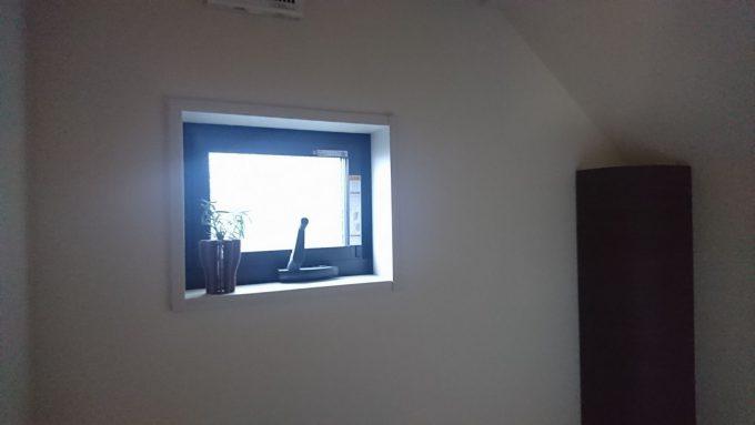 WEB内覧会1階トイレ0.75帖小さな窓