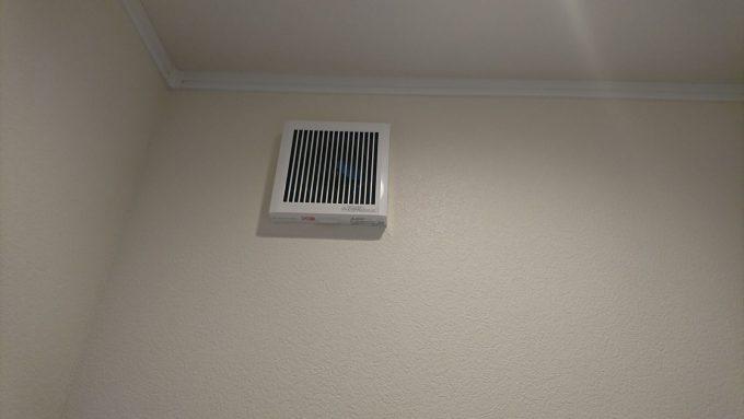 【WEB内覧会】2階トイレ・シンプルな便所換気