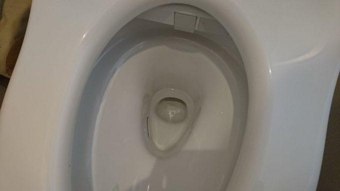 【WEB内覧会】2階トイレTOTO・ZJの便器ちょっと掃除しづらい形状