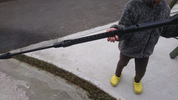 ケルヒャーのノズル子供5歳児